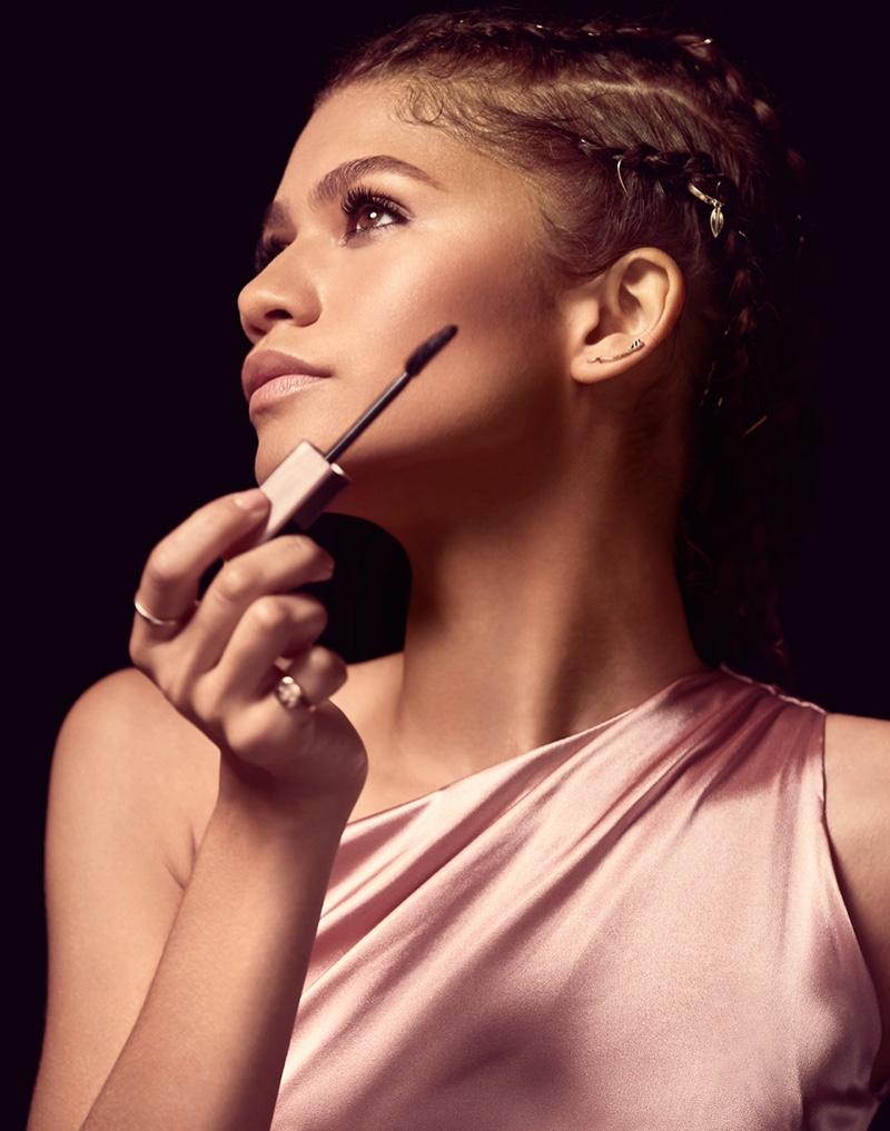 Zendaya stars in Lancome Lash Idôle Mascara campaign.