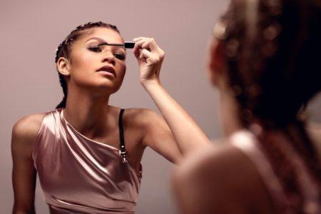 Actress Zendaya fronts Lancome Lash Idôle Mascara campaign.