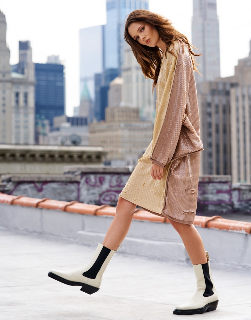 Alicja Tubilewicz Poses in City Styles for Grazia Italy