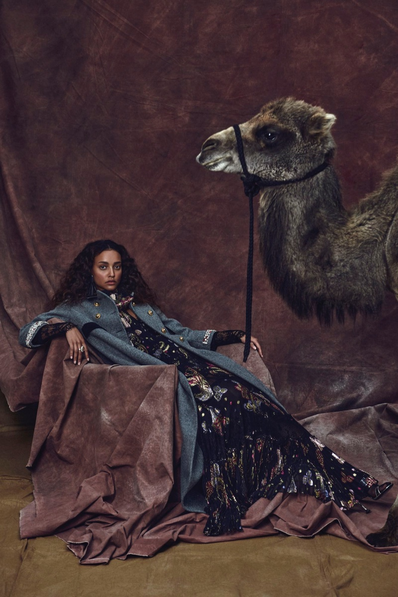 Estella & Betty Go Around the World for InStyle Germany