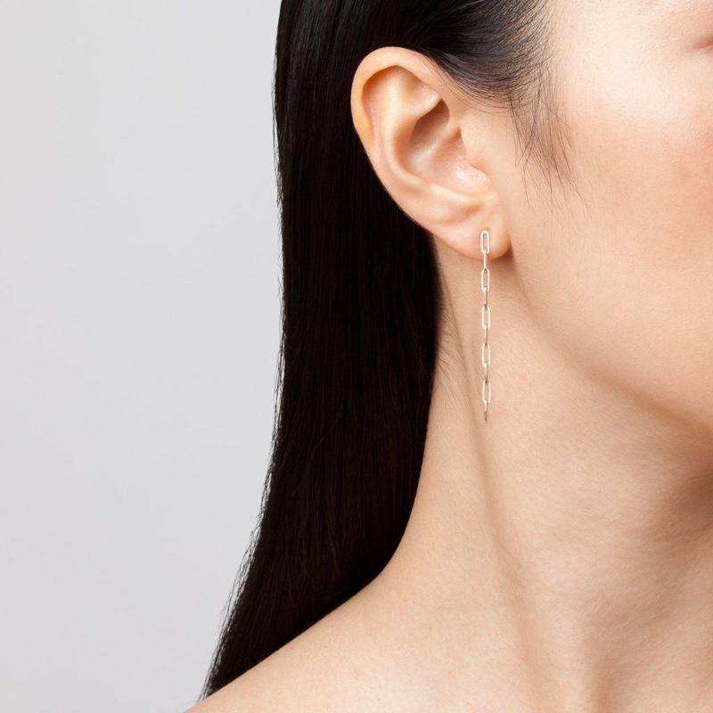 Aurate Sway Medium Chain Earrings Long