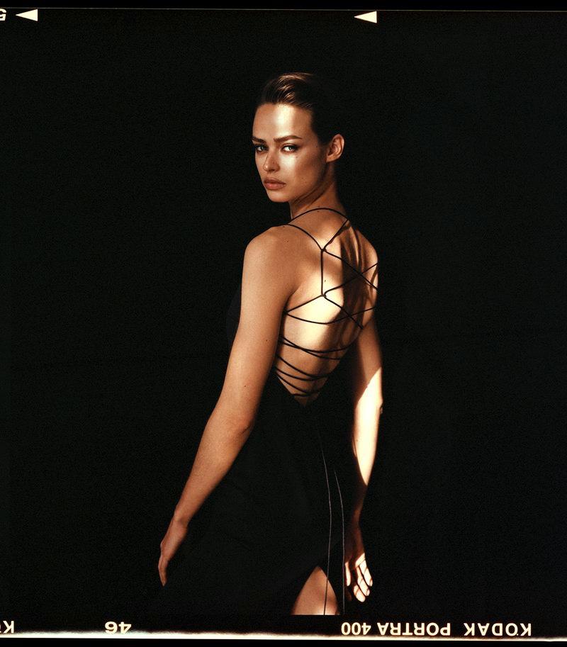 Birgit Kos Delivers Movie Star Looks for Vogue Poland