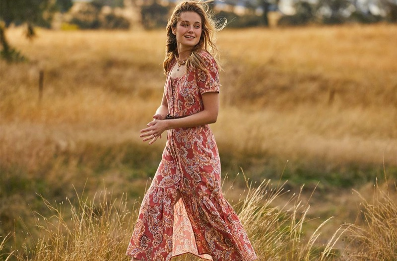 Bridget Malcolm Embraces Boho Style in We Are Kindred Resort 2021
