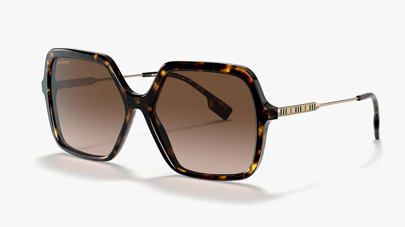 Burberry BE4324 Sunglasses in Tortoise/Brown $254