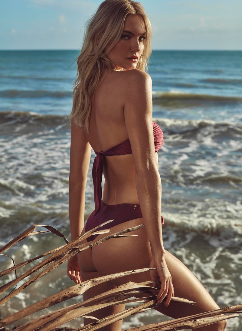 Caroline Trentini Soaks Up the Sun in Agua de Coco 2021 Swim
