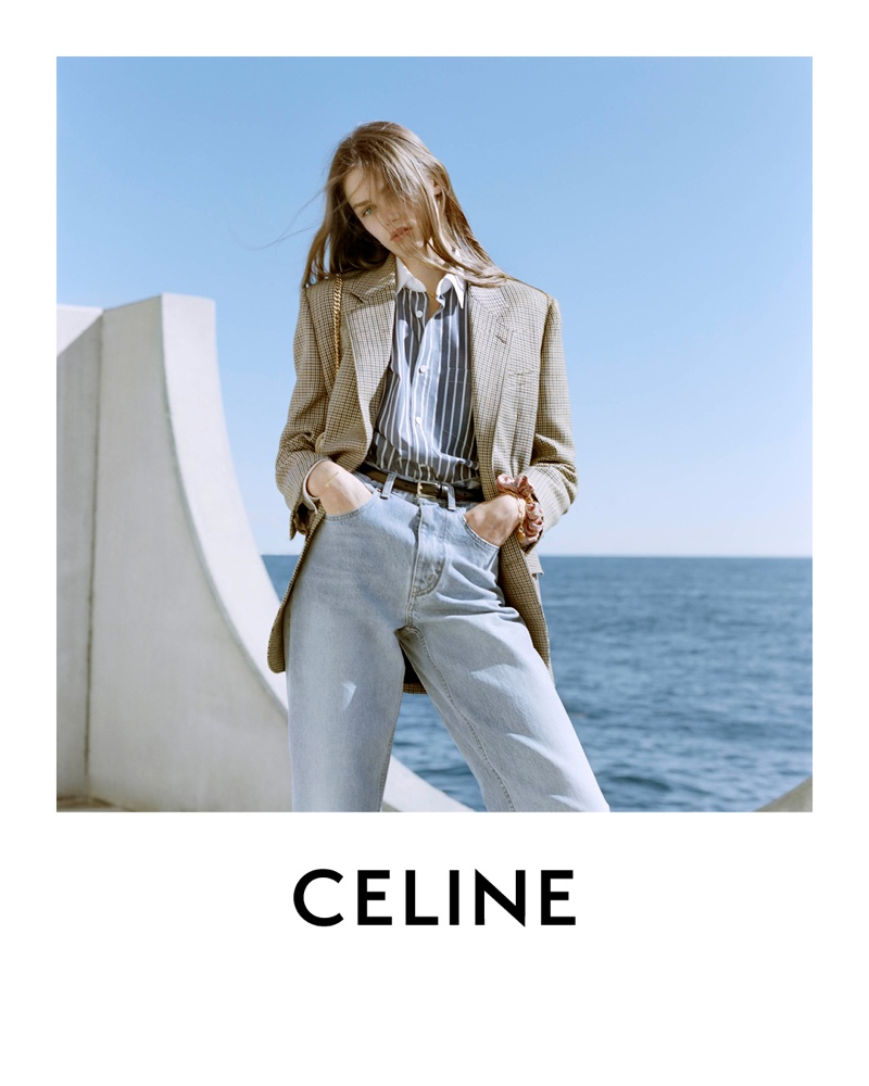 Hedi Slimane photographs Celine spring 2021 campaign.