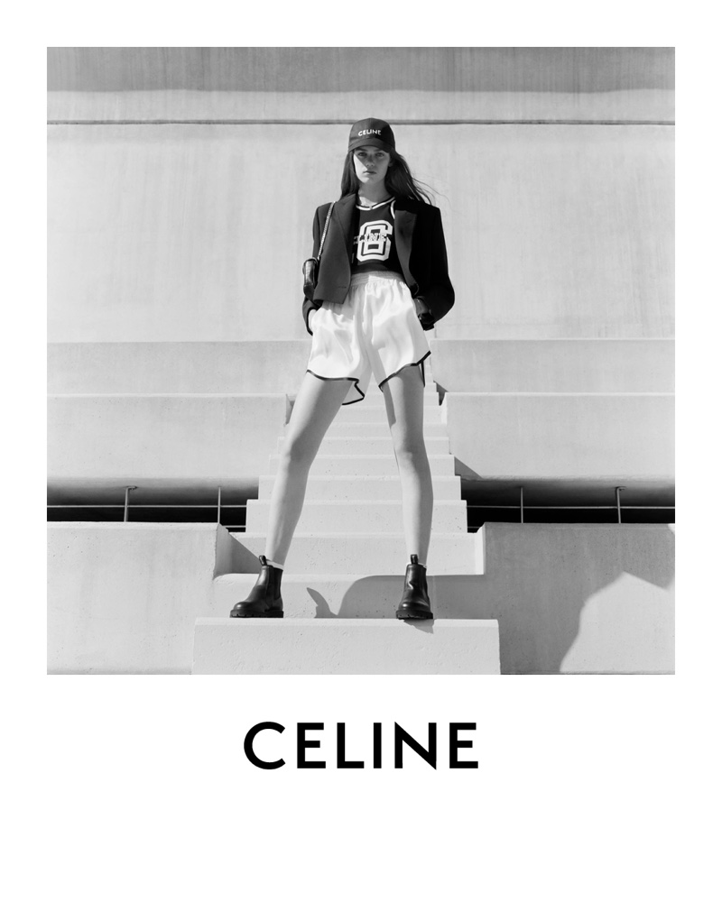 An image from Celine's spring 2021 advertising campaign.
