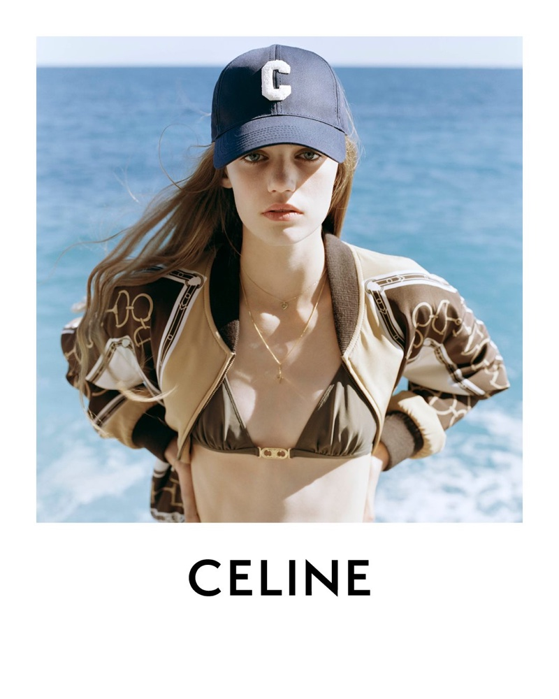 Anna Pepper Is the Face of Celine's Spring 2021 Campaign
