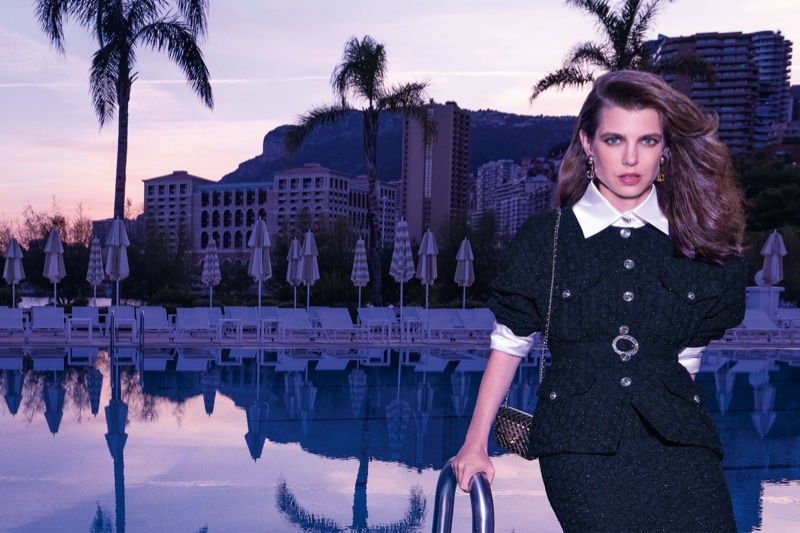 Charlotte Casiraghi stars in Chanel spring-summer 2021 campaign.