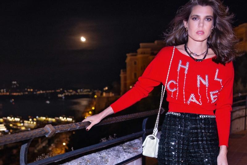 Charlotte Casiraghi named brand ambassador for Chanel in 2021.