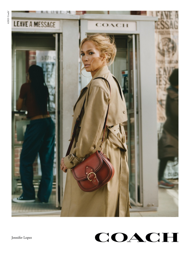 Jennifer Lopez stars in Coach spring-summer 2021 campaign.