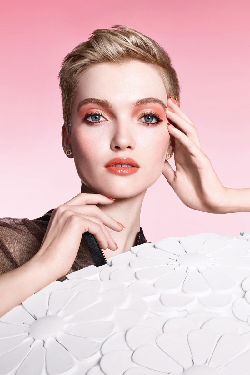 Dior takes inspiration from flowers for Pure Glow spring 2021 campaign.