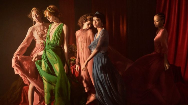 Dior's Spring 2021 Campaign is Like a Painting