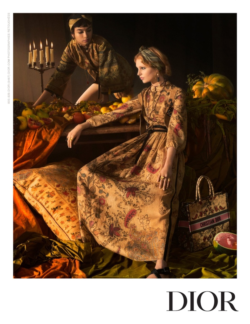 Influenced by the work of the masters, Dior showcases painterly inspired images for spring-summer 2021 campaign.