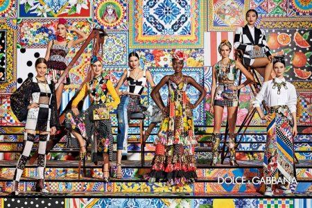 Dolce & Gabbana unveils spring-summer 2021 campaign.