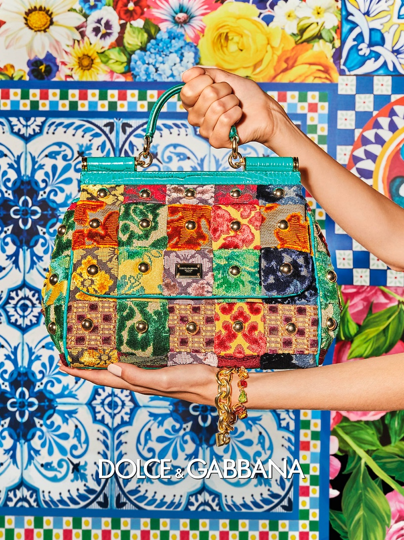 Dolce & Gabbana Delivers Patchwork Style for Spring 2021 Campaign