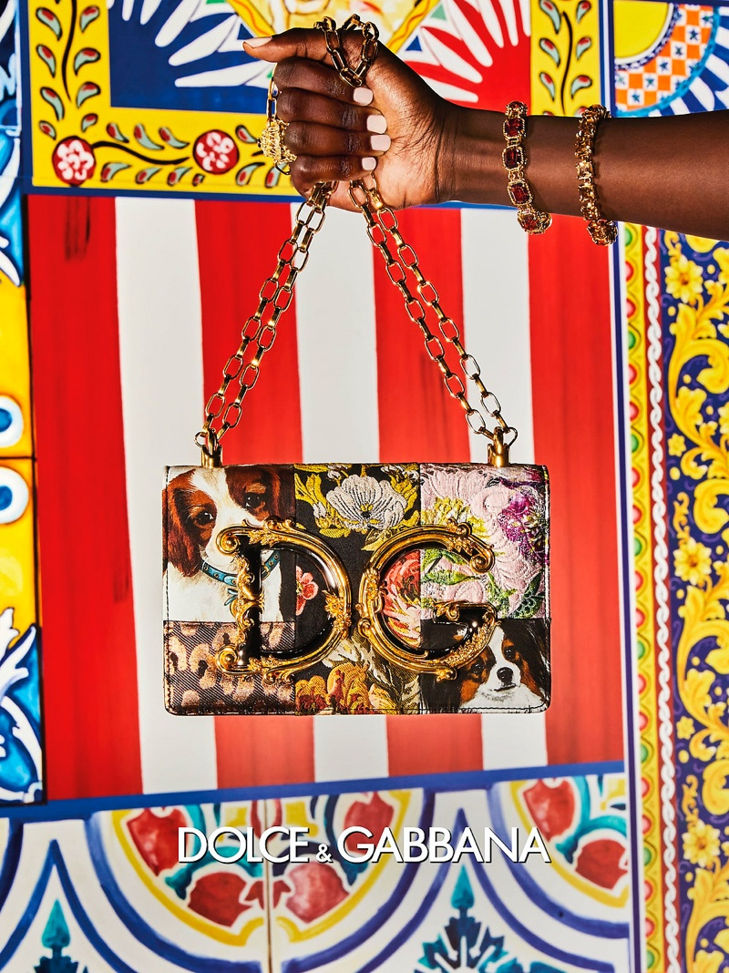 Photo from Dolce & Gabbana spring-summer 2021 campaign.