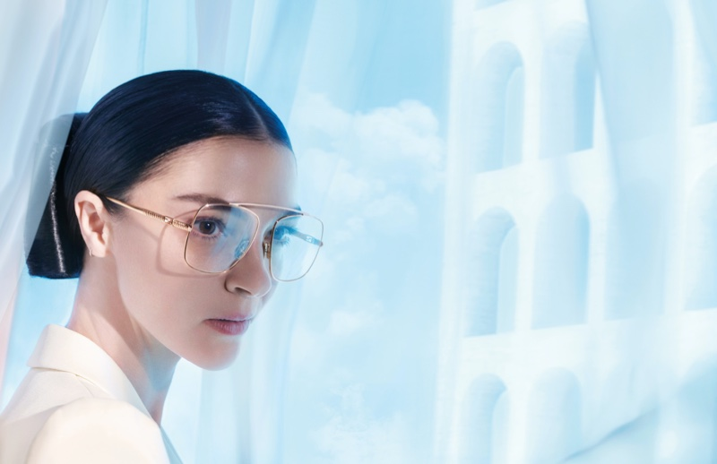 Fendi focuses on eyewear with spring-summer 2021 campaign.