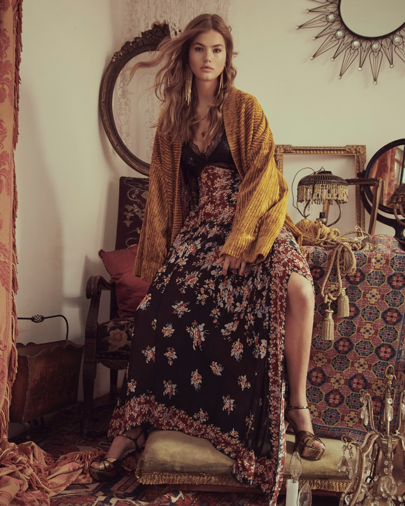 Myrthe Bolt Embraces Bohemian Looks From Free People