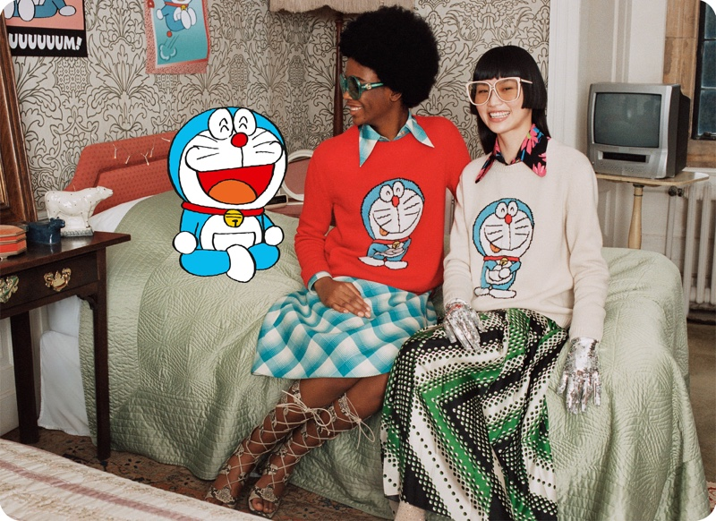 Doraemon x Gucci Team Up for Lunar New Year Campaign