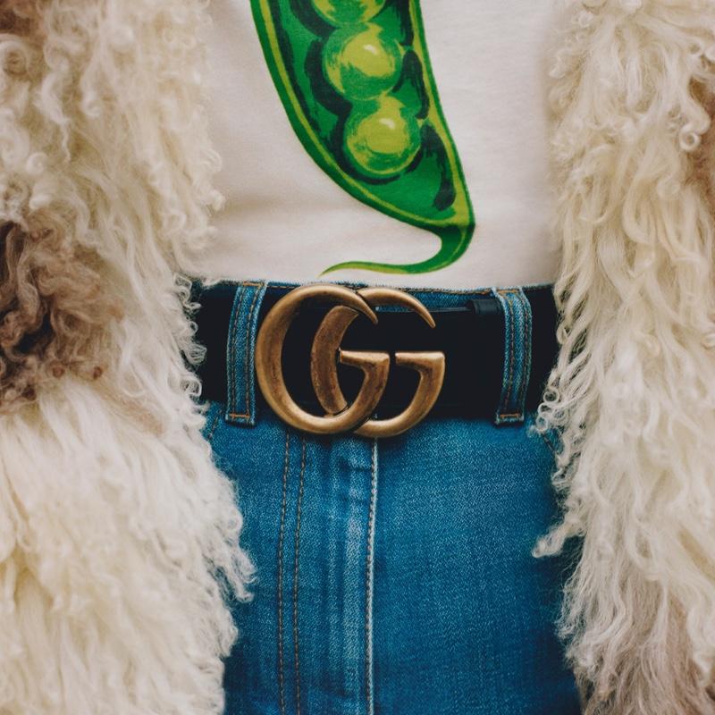 Vanessa, Celeste, Alexa Pose for Gucci Winter in the Park Campaign