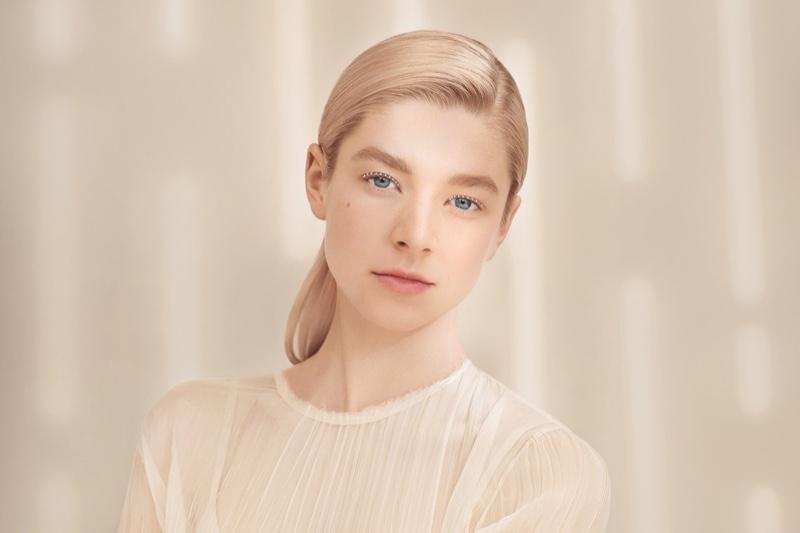 Hunter Schafer stars in Shiseido Synchro Skin Radiant Lifting Foundation campaign.