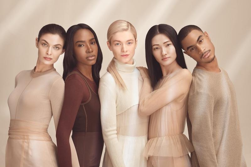 Shiseido unveils Synchro Skin Radiant Lifting Foundation campaign.