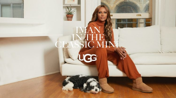Iman stars in UGG spring-summer 2021 campaign.