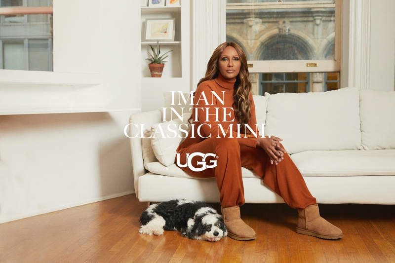 Iman Is the Face of UGG's Spring 2021 Campaign