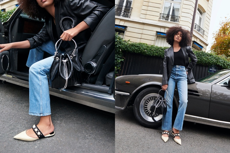 Jimmy Choo sets spring-summer 2021 campaign in Paris, France.