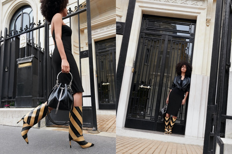 Luxury brand Jimmy Choo launches spring-summer 2021 campaign.