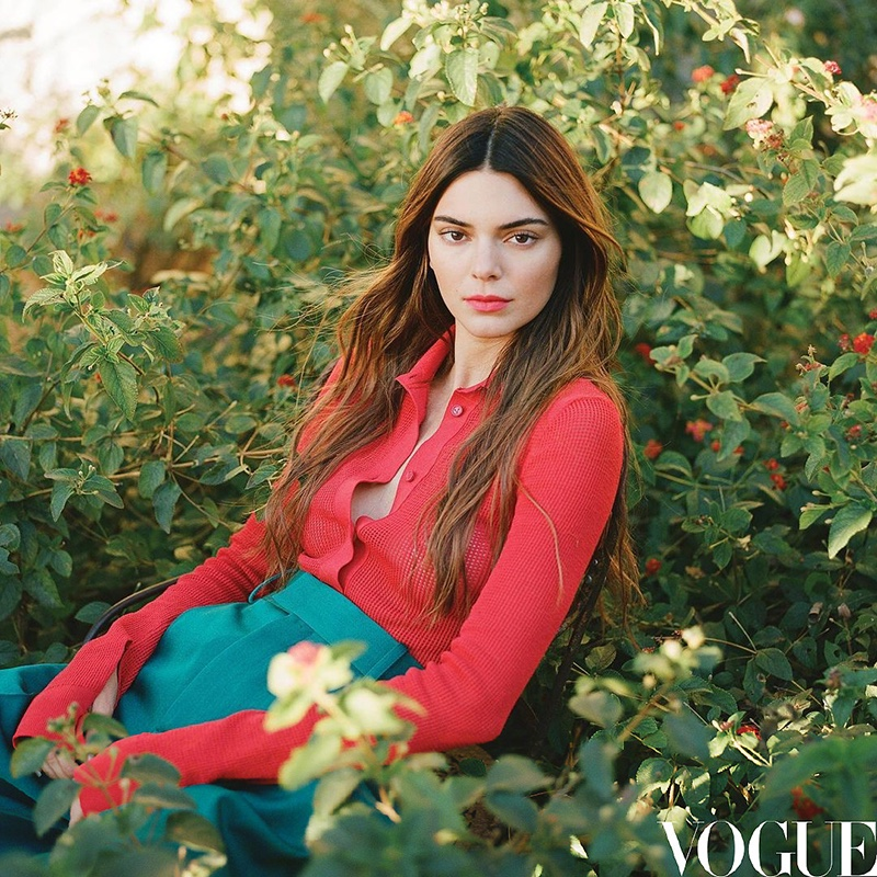 Kendall Jenner Poses in Chic Styles for Vogue China