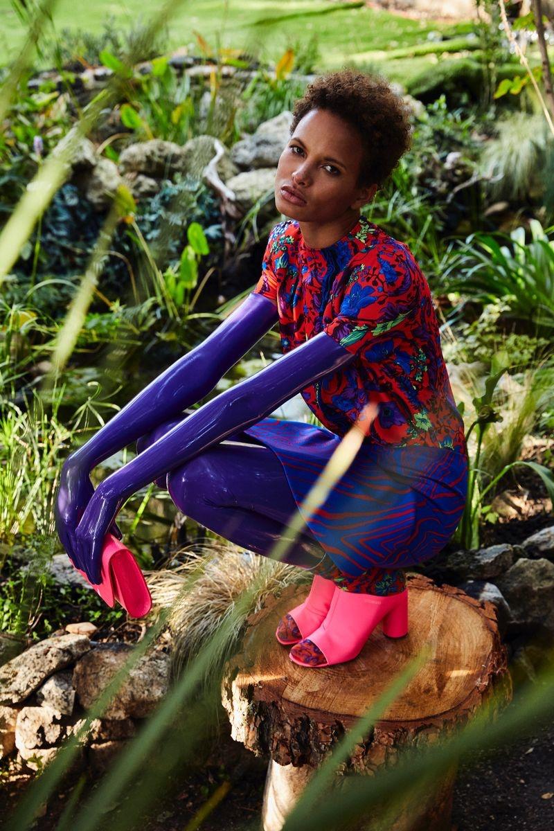 Litza Veloz Models Avant-Garde Looks for Numero Russia