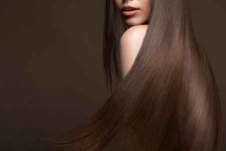 Long Brown Hair Brunette Model Cropped