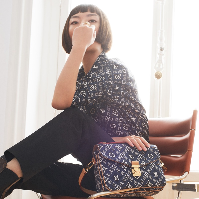 An image from Louis Vuitton's Lunar New Year 2021 advertising campaign.