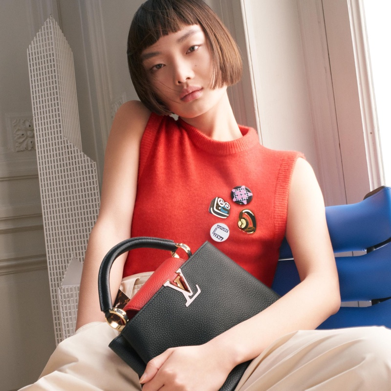 Mao Xiaoxing stars in Louis Vuitton Lunar New Year 2021 campaign.