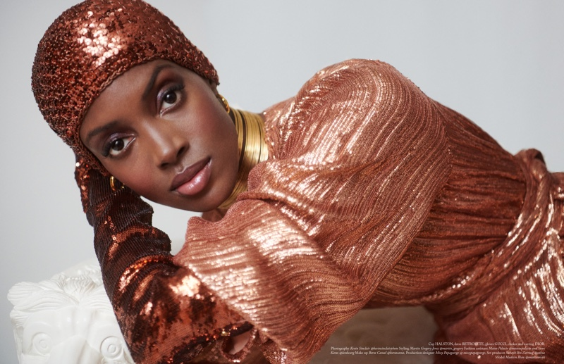 Madisin Rian Models Luxe Styles for Vestal Magazine