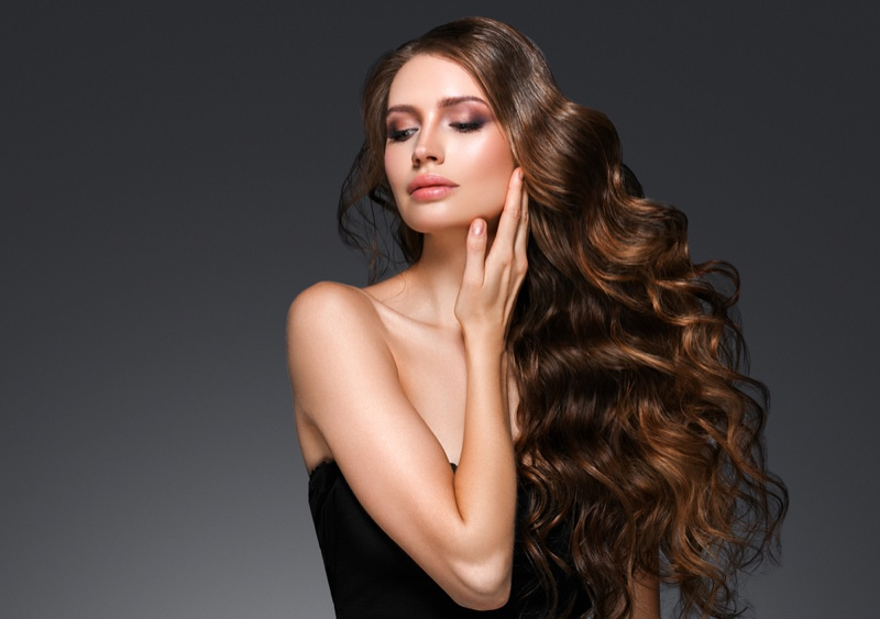 Model Wavy Thick Hair Extensions