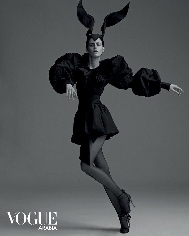 Natalia Napieralska Wears Statement Styles for Vogue Arabia