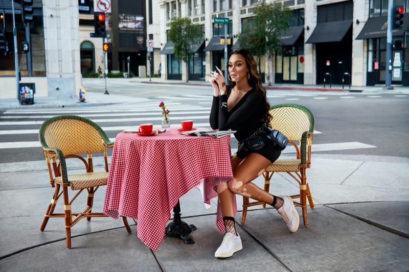 Winnie Harlow stars in PUMA Fashion Rebels campaign.