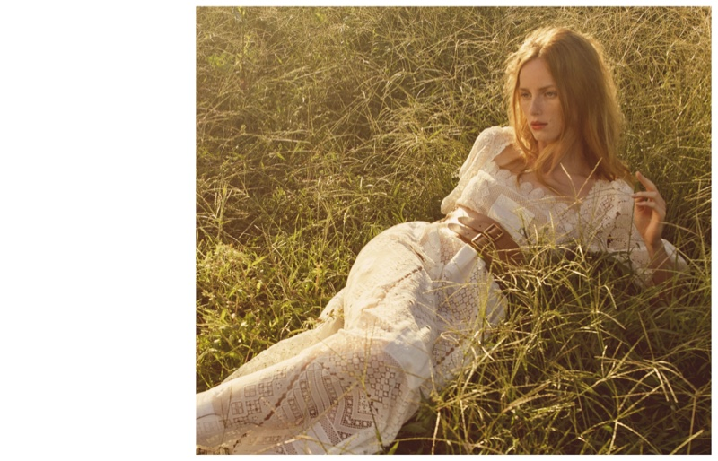 Rianne van Rompaey Enchants in Ethereal Styles for Vogue Japan