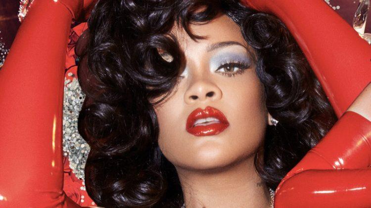 Rihanna stars in Savage x Fenty Valentine's Day 2021 lingerie campaign.