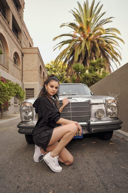PUMA ambassador Selena Gomez rocks the new Cali Star style.
