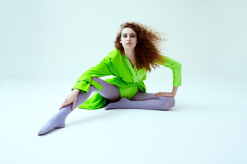 Sia Vlasova Wears Statement Styles for Neo2 Magazine