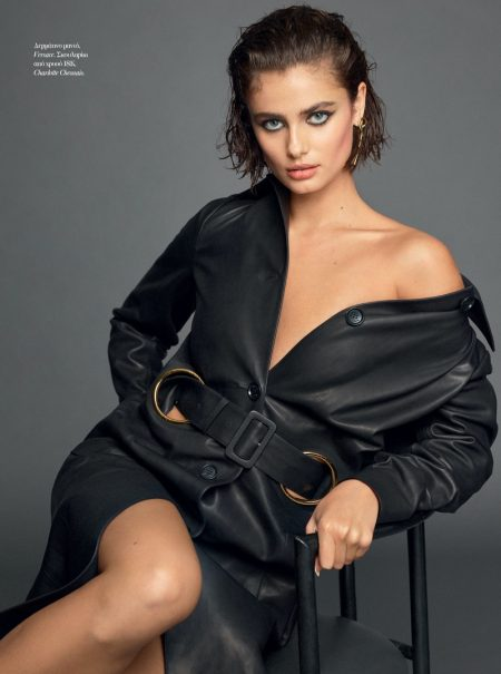 Taylor Hill Graces the Pages of Vogue Greece