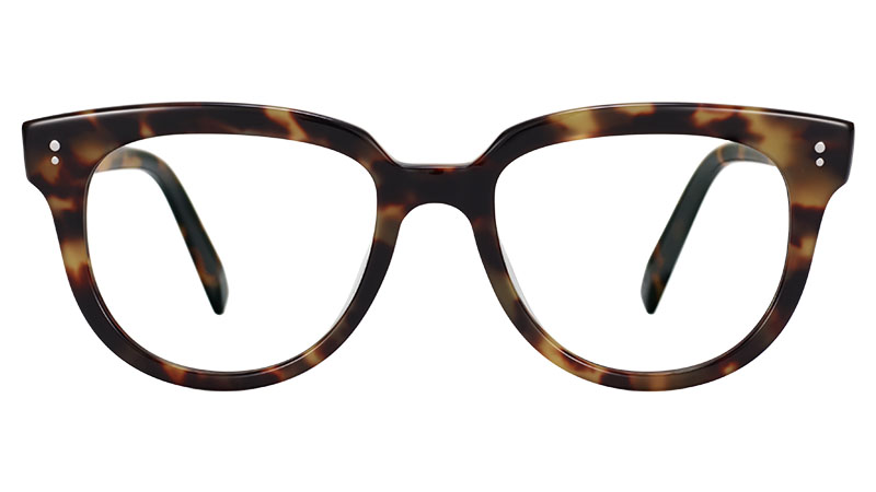 Warby Parker Effie Glasses in Brioche Tortoise $95