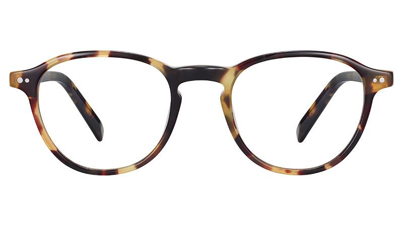 Warby Parker Truesdale Glasses in Walnut Tortoise $95
