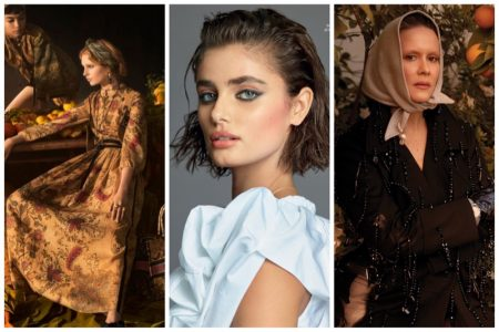 Week in Review | Taylor Hill's New Cover, Dior Spring Ads, Sarah Paulson for DuJour + More