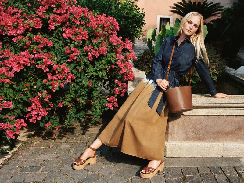 Weekend Max Mara goes back to its roots for spring-summer 2021 campaign.