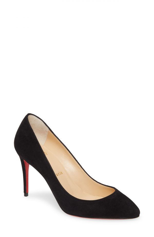 Women's Christian Louboutin Eloise Pump, Size 5.5US - Black
